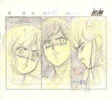 Anime Genga not Cel Bubble Gum Crisis #60