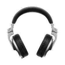 Pioneer HDJ-X5 Over-Ear Foldable DJ Headphones Silver w/ Detachable Cables