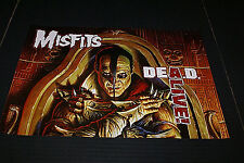 """The Misfits Dead Alive Poster Out Of Print Rare! 18"""" X 12"""" Inches New Old Stock"""