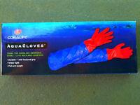 Coralife Aqua Gloves, Makes Aquarium Maintenance Easy and Safe