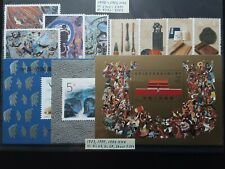 CHINA 1989-1997 stamps and s/s in XF condition MNH (see all scans)