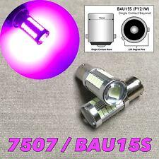 Rear Turn Signal Bulb BAU15S 7507 PY21W 33 SMD samsung LED Purple W1 JAE