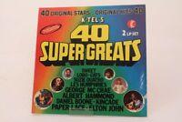 40 Super Greats TG129 Original Stars Suzie Quatro Elton John Vinyl Schallplatte