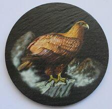 Golden Eagle - Coaster - Welsh Slate