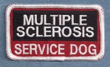 Multiple Sclerosis Service Dog Service Dog vest patch
