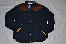 AUTHENTIC PENFIELD MENS STAPLETON SIZE L LARGE NAVY WATER RESISTANT DOWN JACKET