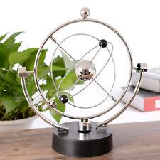 Globe Model Newtons Cradle Balance Balls Physics Pendulum DIY Decoration Gift ON