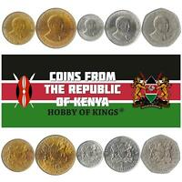 50-500 shillings 2007-2008 UNC Uganda set of 4 coins