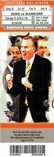 Ticket Basketball Phoenix Suns 2006 - 1/12 - Golden State Warriors