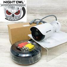 Night Owl 5MP HD White Bullet Security Spotlight Camera w 60ft CM-C50XL-BU-JF