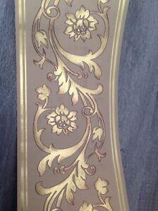 wunderschöne Barock Caramel Gold  , 5m lang 17,7 cm breit Nummer D013