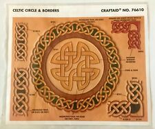 Tandy Leather Factory Celtic Circle & Borders Stencil NEW Craftaid No. 76610