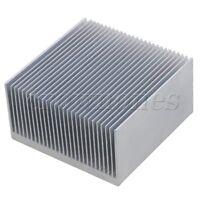 Cooling Fin Aluminium Radiator Heatsink Heat Diffuse Silver 69x69x36mm