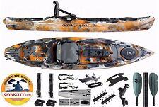 2017 Ocean Kayak Prowler Big Game II Fishing Kayak Angler Pro Pkg - Orange Camo