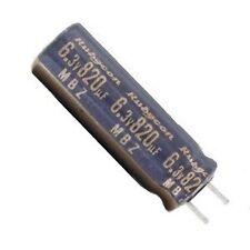Lot of 5 Electrolytic Capacitors 820uF 6.3V 105C MBZ