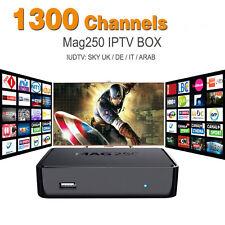 New IPTV Set Top Box MAG 250 Multimedia Player Internet TV Full HD