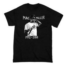 Vintage Mac Miller 1992-2018 Men Short Sleeve BlackT-Shirt All Size S-4XL KL376