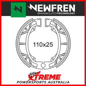 """Newfren Rear Brake Shoe Peugeot TRK 50 12"""" wheels 2009-2012 GF1043"""