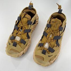 NEW Nike ISPA Overreact Sandal Size 7.5 New Brown Wheat Club Gold (CQ2230-700)