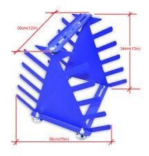 Desktop Screen Printing Squeegee Rack Spatulas Holder Organizer Shelving Tool