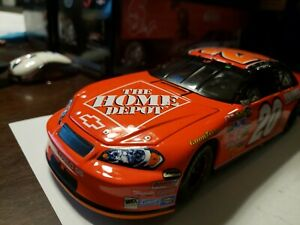 2007 #20 Tony Stewart Home Depot Indianapolis Raced Win 1/24 Motorsports...