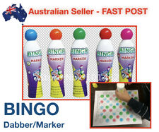High Quality Easy to Use Bingo Marker Yellow Dabber Dotter Pen Paint Dab Ink New