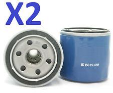 x2 Oil Filter Suits Z443 DAIHATSU CHARADE, MIRA M201, SIRION, TERIOS, SUZUKI APV