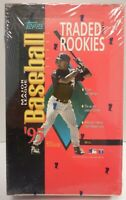 Topps 1995 Baseball Traded and Rookies 36 Pack Factory Sealed Box 092220DBT