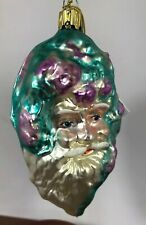 Erwin Eichorn Blown Glass Bavarian German Christmas Ornament W/ Tag B20