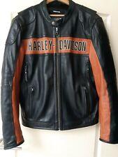Harley Davidson Classic Riding lederjacke/jacket 98014-10VM original HD