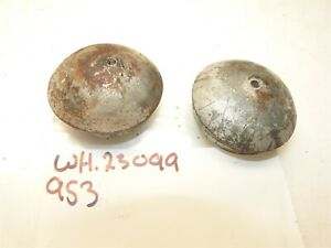 Wheel Horse 953 Tractor Front Wheel Dust Grease Caps