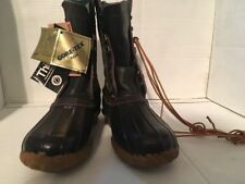 Vintage New LaCrosse duck hunting Gore-Tex Thinsulate boots Steel Shank Size 8