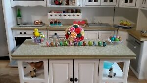 Dollhouse Miniature Easter Eggs