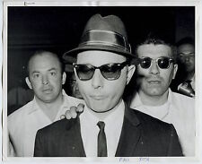 Photo Gangster Mafia - Arrestation de Larry Gallo - New York 1963 -