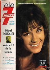 ►Télé 7 Jours 278 (1965) DANIÈLE EVENOU_MARIE-JOSÉ NAT_DALI_POULIDOR_JOE DASSIN