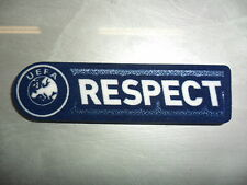 TOPPA PATCH BADGE UEFA RESPECT SENSCILIA SPORTIND iD AUTHENTIC EUROPA CHAMPIONS