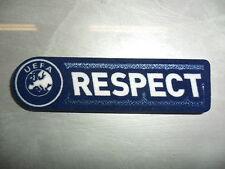 TOPPA PATCH BADGE UEFA RESPECT SENSCILIA SPORTIND iD AUTHENTIC EUROPA CHAMPIONS