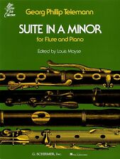 Suite in A Minor for Flute & Piano Woodwind Solo NEW 050334860