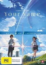 Your Name (Blu-ray, 2017, 3-Disc Set)
