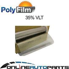 35% Silver Mirror Reflective Glass Window Solar Film 76cm x 30m Bulk Roll Tint