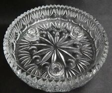 Vintage Taper Candle Holder Dish  24% Lead Crystal Fostoria #830 PRINCESS HOUSE