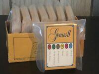 50-Trivial Pursuit Cards -Genus II Edition 1980's Trivia Quiz Game