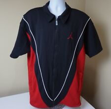 Vintage Nike Air Jordan CHICAGO BULLS 90s NBA SHOOTING SHIRT Warm Up Jacket