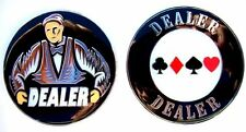 Heavy Poker Dealer Button Classic Dealer Man Style NEW