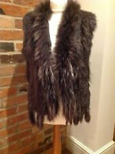 Hook and Eye Fur Waistcoats for Women