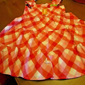 Gymboree Size 5T Dress, Red/white, NWT,sundress