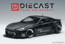 AUTOART 78755  ROCKET BUNNY TOYOTA 86 - MATT BLACK/BLACK WHEELS 1:18TH SCALE