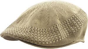 Classic Mesh Ivy Newsboy Ivy Cap Hat Crochet Driving Golf Ventair Ivy NEW