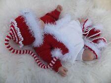 Tejer patrón de papel para hacer un poco de magia Navidad Bebés Bebé/muñeca reborn