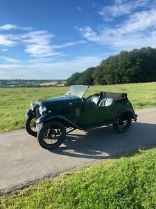 1934 Austin 7 special tourer 750 classic car not barn find restoration project